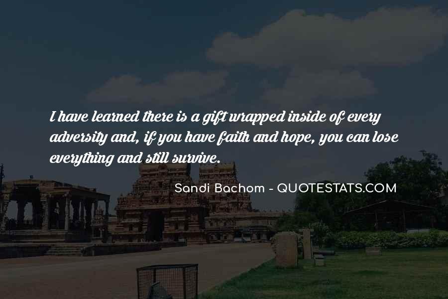 Sandi Bachom Quotes #20577