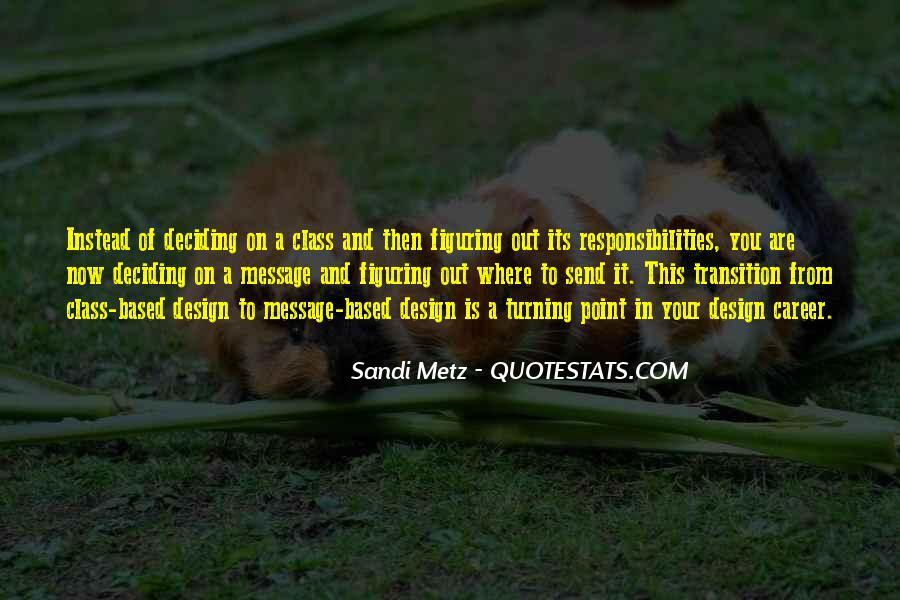 Sandi Metz Quotes #1570160