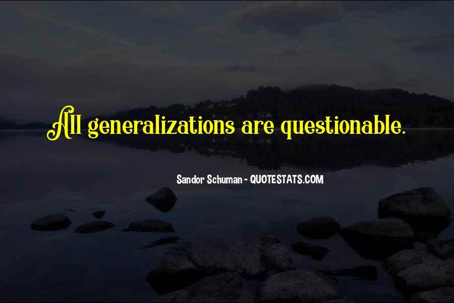Sandor Schuman Quotes #2836