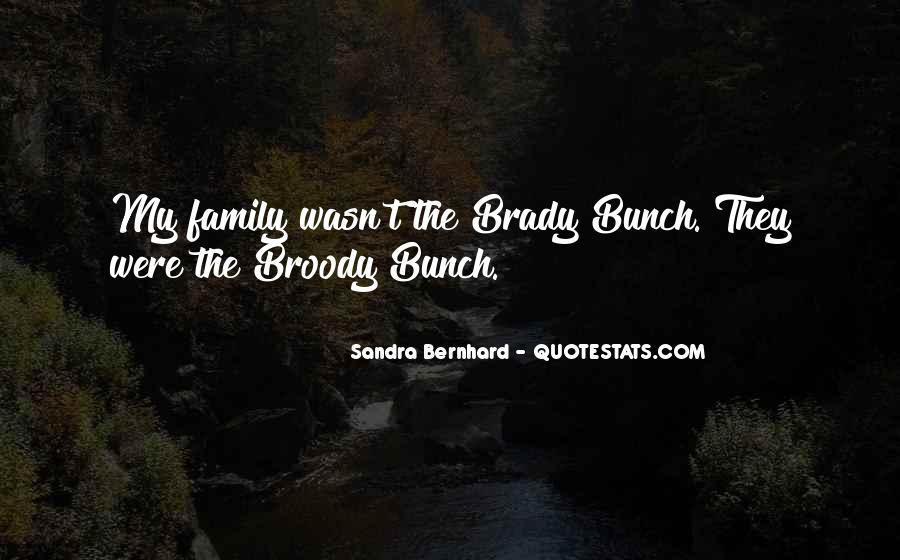 Sandra Bernhard Quotes #1084206