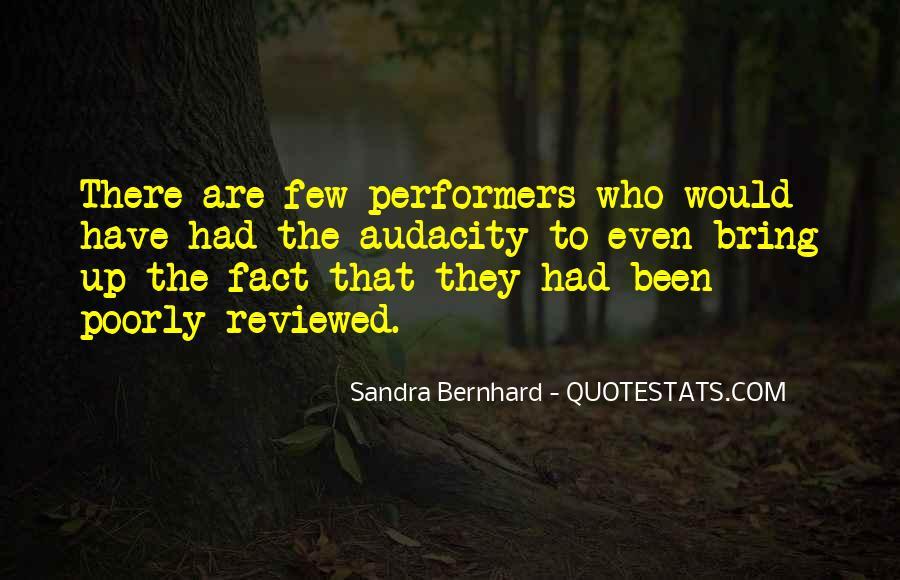 Sandra Bernhard Quotes #1094867