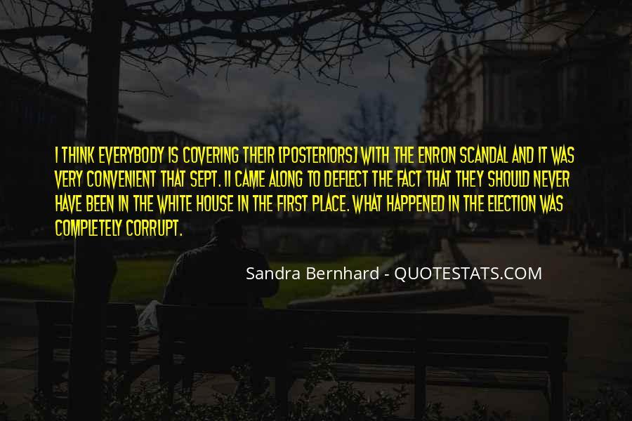 Sandra Bernhard Quotes #1139017