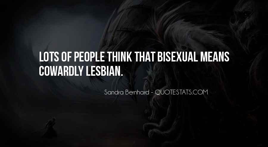 Sandra Bernhard Quotes #1198902