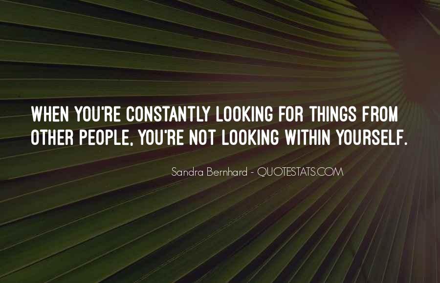 Sandra Bernhard Quotes #1336466