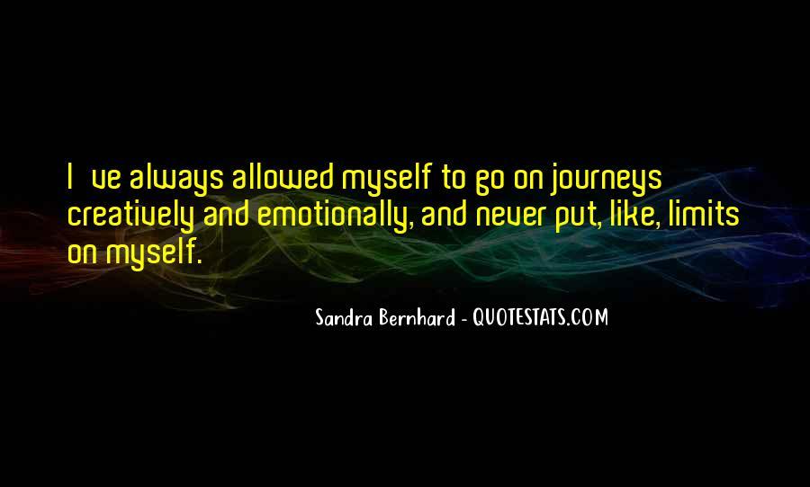 Sandra Bernhard Quotes #1400937