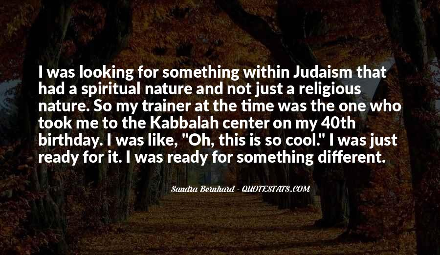 Sandra Bernhard Quotes #1552416