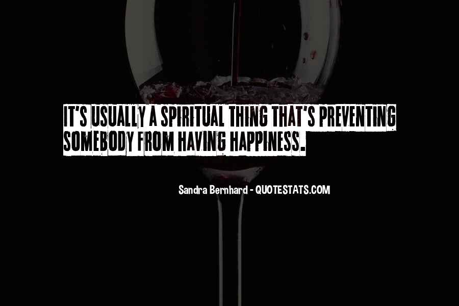 Sandra Bernhard Quotes #1587526