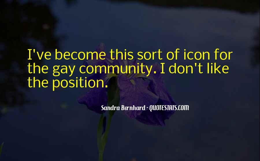 Sandra Bernhard Quotes #1616243