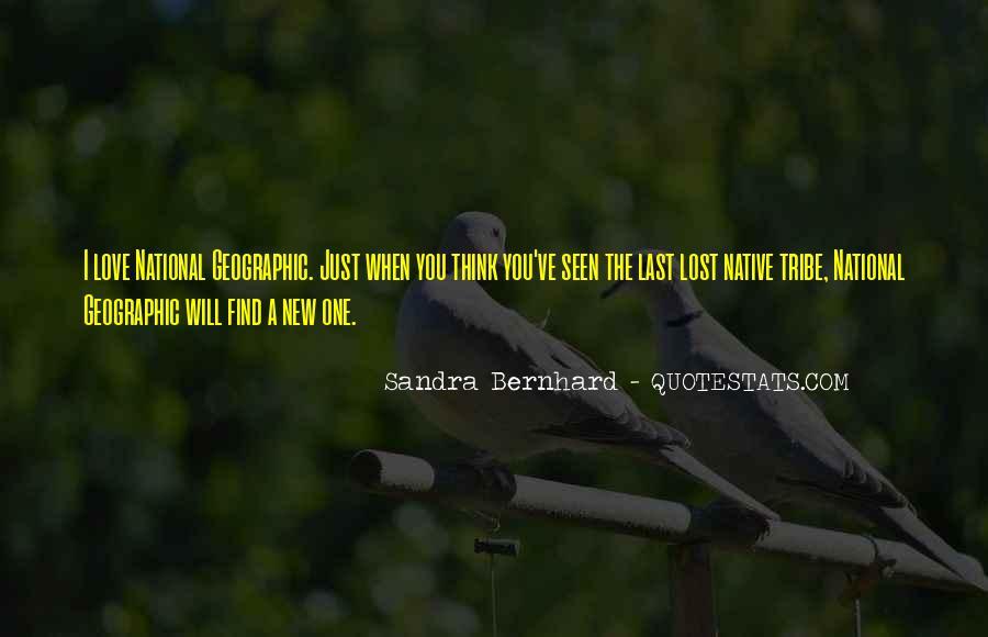 Sandra Bernhard Quotes #1676805