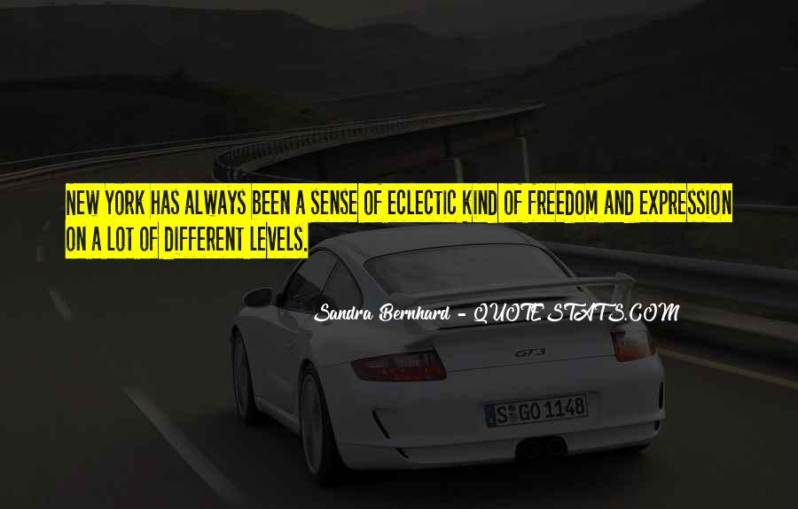 Sandra Bernhard Quotes #16871