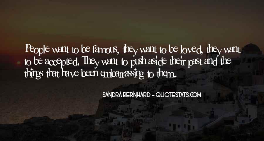 Sandra Bernhard Quotes #1709584