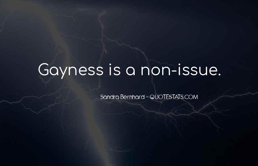 Sandra Bernhard Quotes #1761012