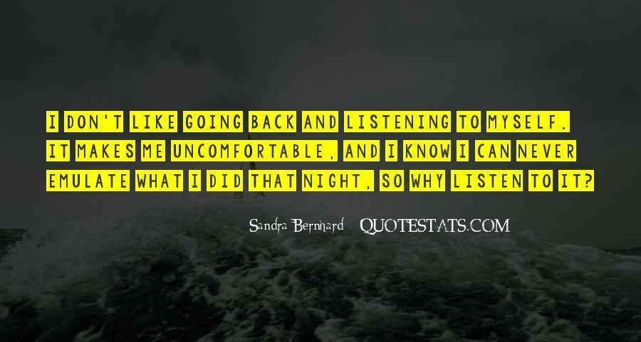 Sandra Bernhard Quotes #17617