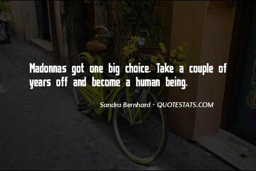 Sandra Bernhard Quotes #387276