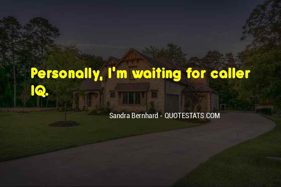 Sandra Bernhard Quotes #396725