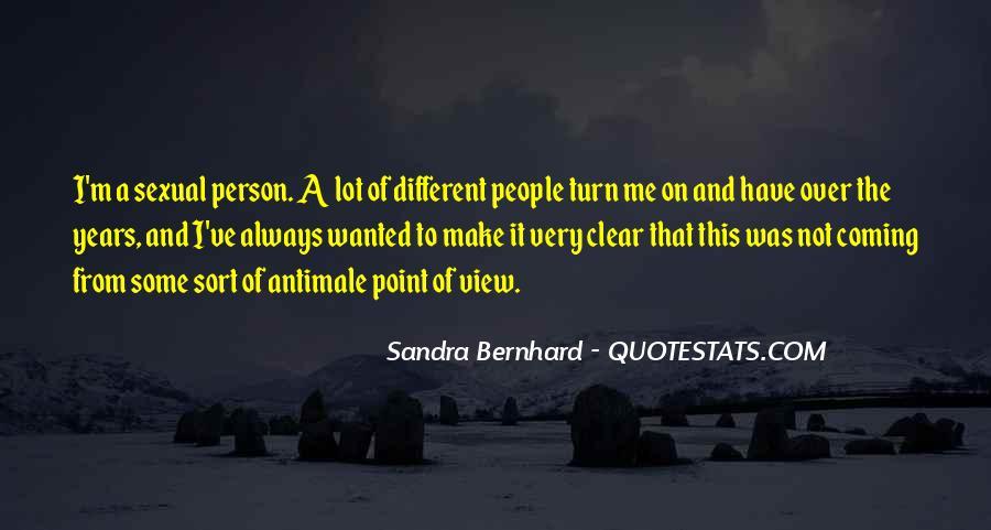 Sandra Bernhard Quotes #551005