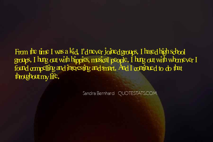 Sandra Bernhard Quotes #587171