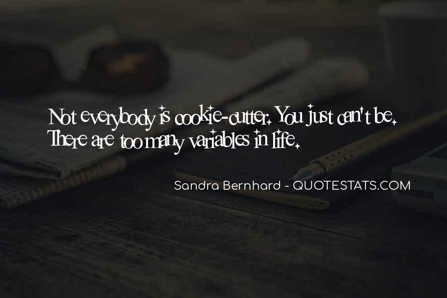 Sandra Bernhard Quotes #625756