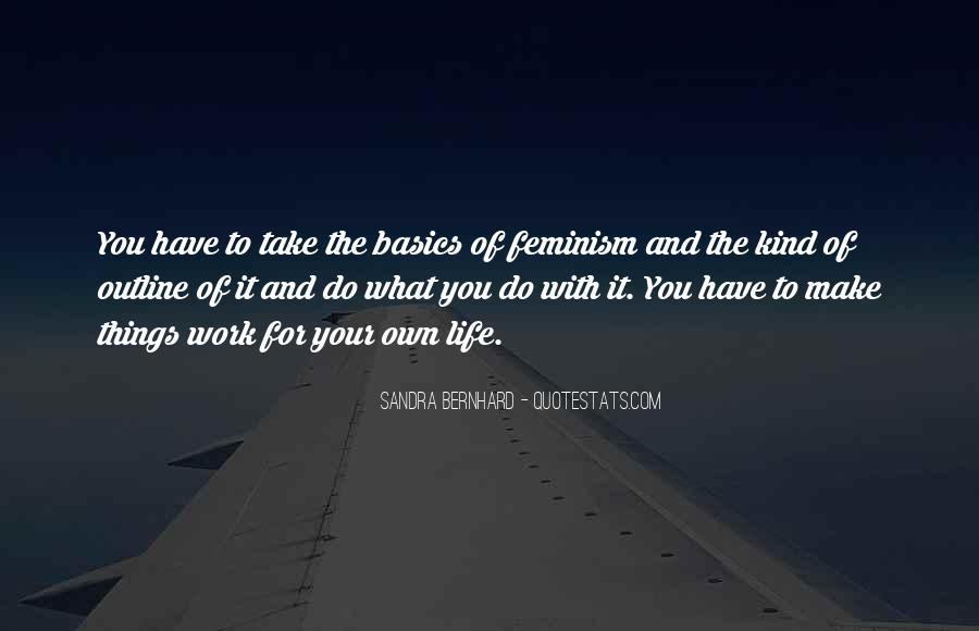 Sandra Bernhard Quotes #626212