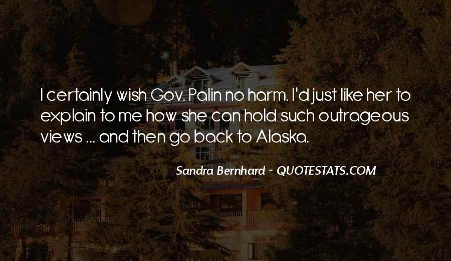 Sandra Bernhard Quotes #827614