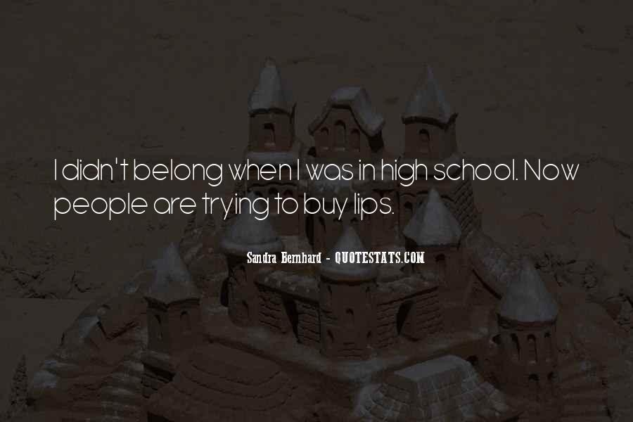 Sandra Bernhard Quotes #836382