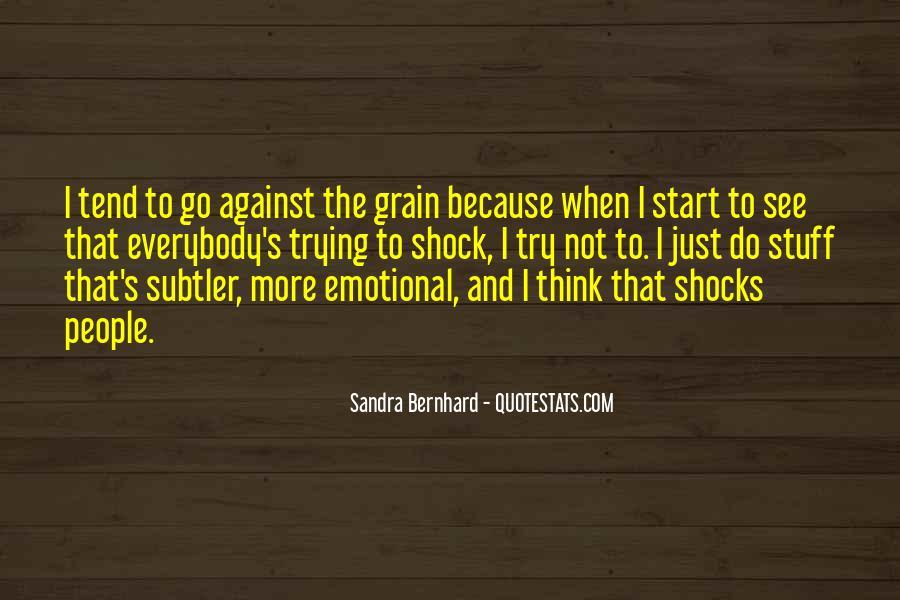 Sandra Bernhard Quotes #88507