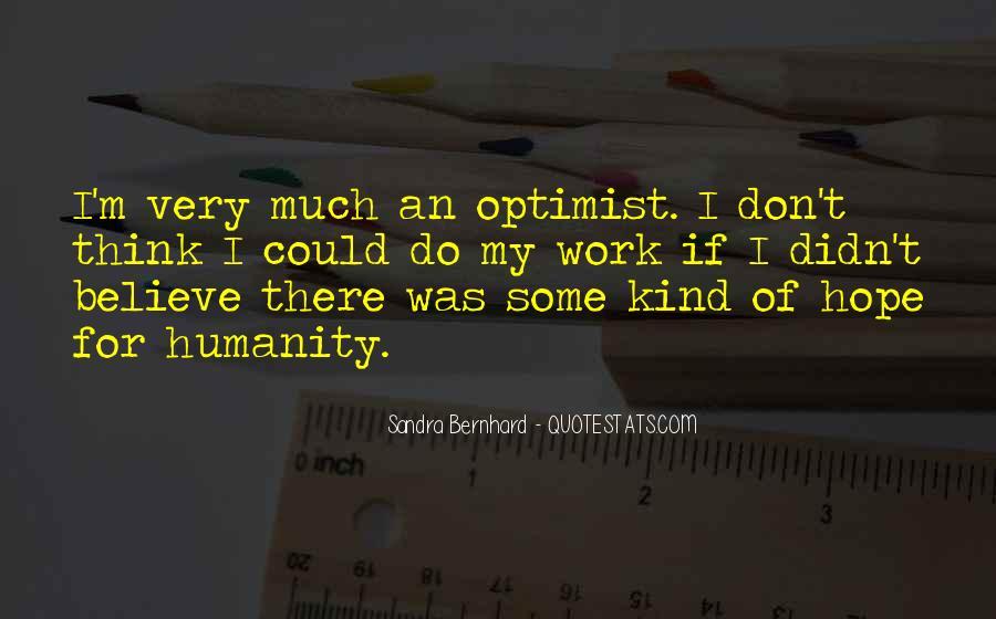 Sandra Bernhard Quotes #919363