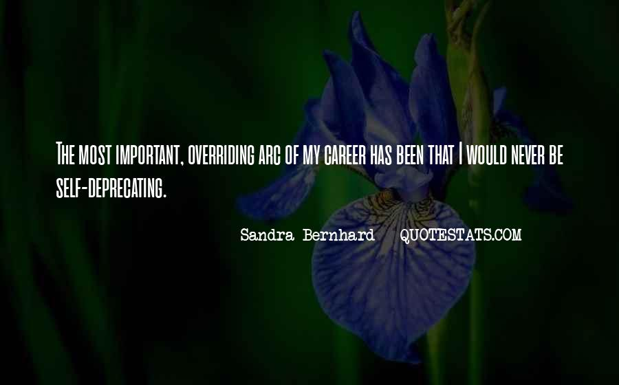 Sandra Bernhard Quotes #951592