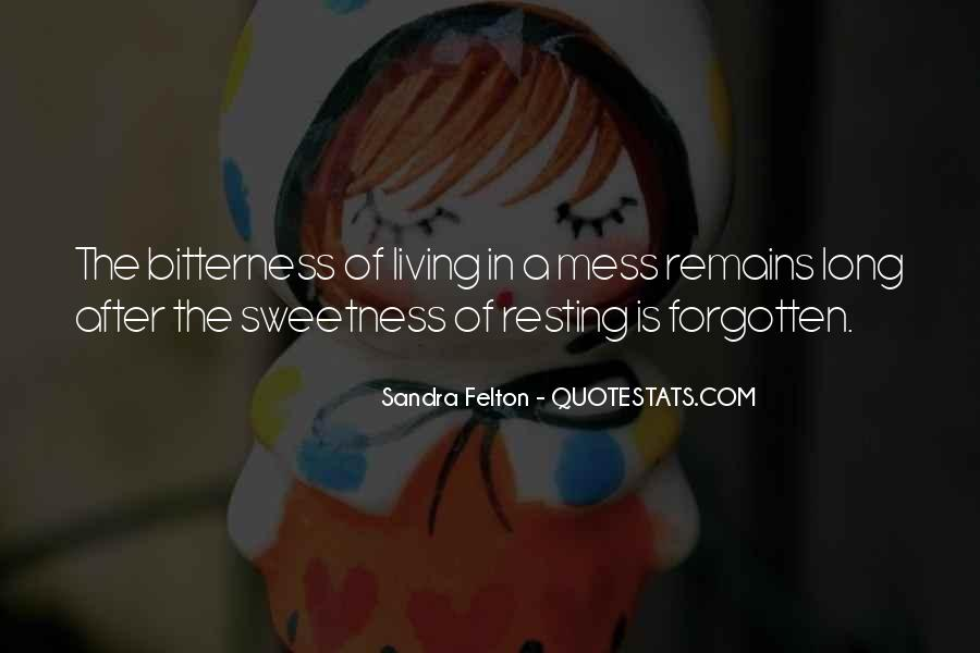 Sandra Felton Quotes #599993