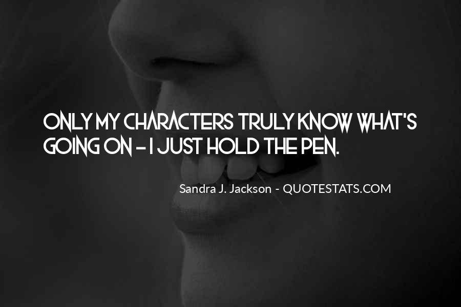 Sandra J. Jackson Quotes #1258145