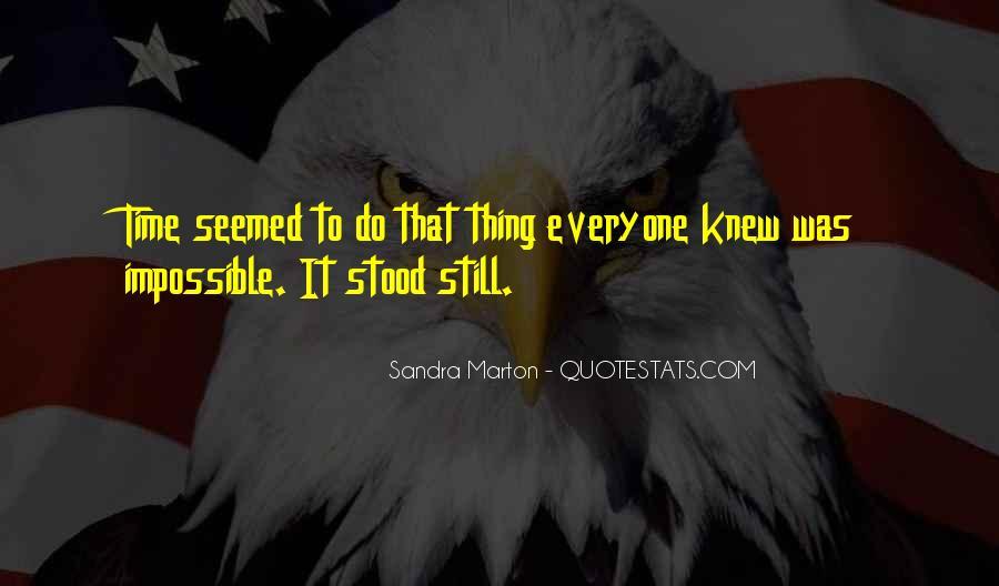 Sandra Marton Quotes #1356184