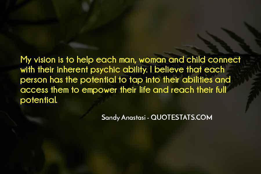 Sandy Anastasi Quotes #339702