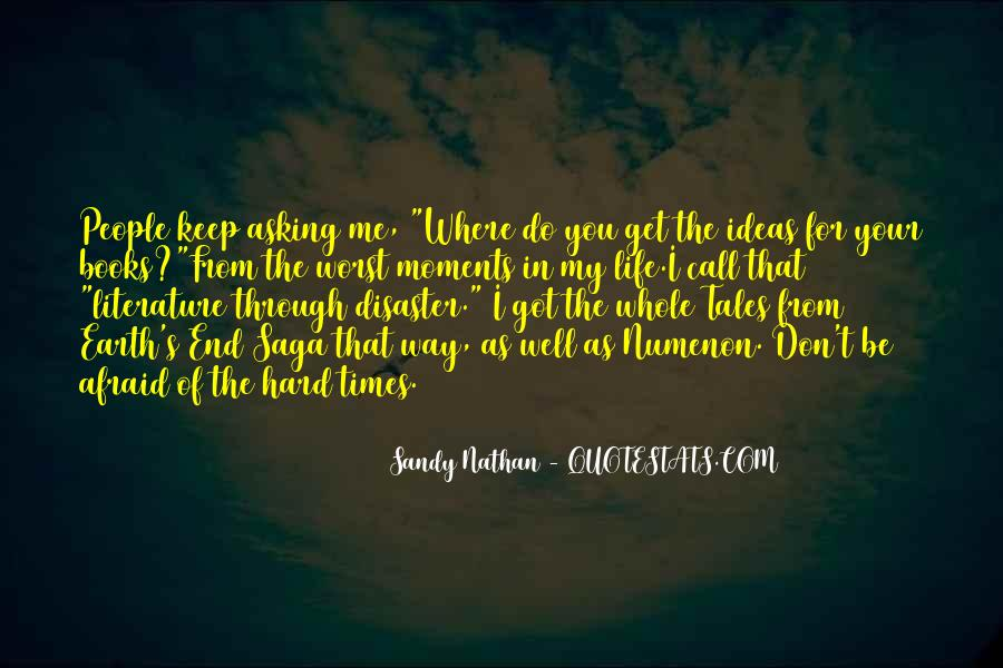 Sandy Nathan Quotes #651323