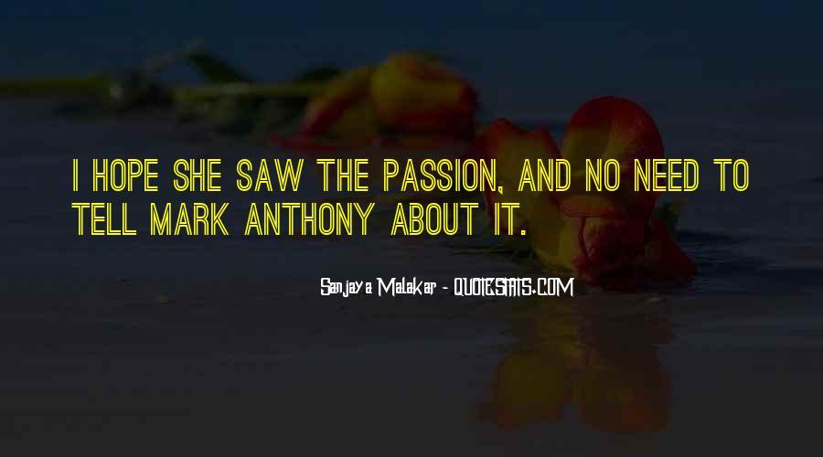 Sanjaya Malakar Quotes #247070