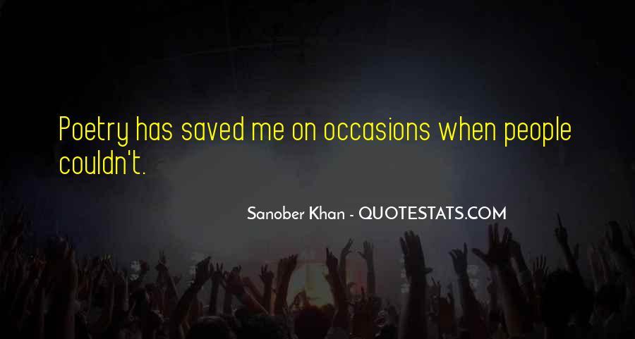 Sanober Khan Quotes #104556