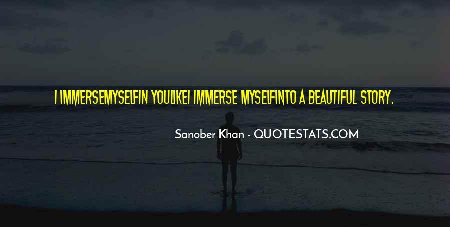 Sanober Khan Quotes #1292814