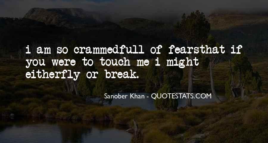 Sanober Khan Quotes #144265