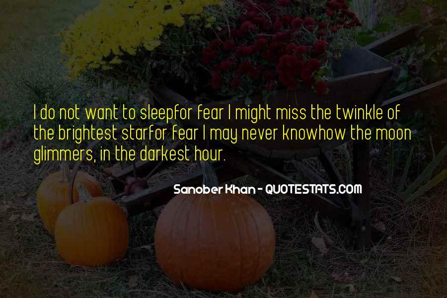 Sanober Khan Quotes #1448502