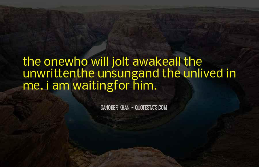 Sanober Khan Quotes #1511868