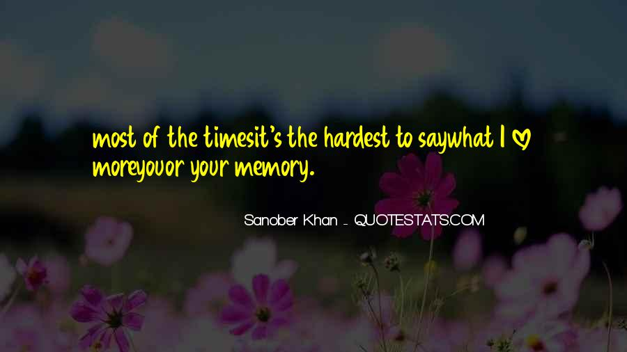 Sanober Khan Quotes #1547632