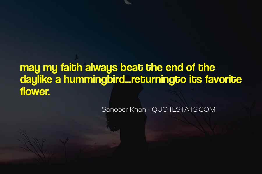 Sanober Khan Quotes #1560694
