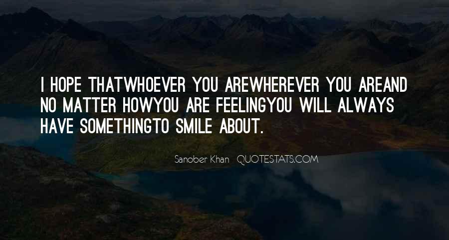 Sanober Khan Quotes #1641239