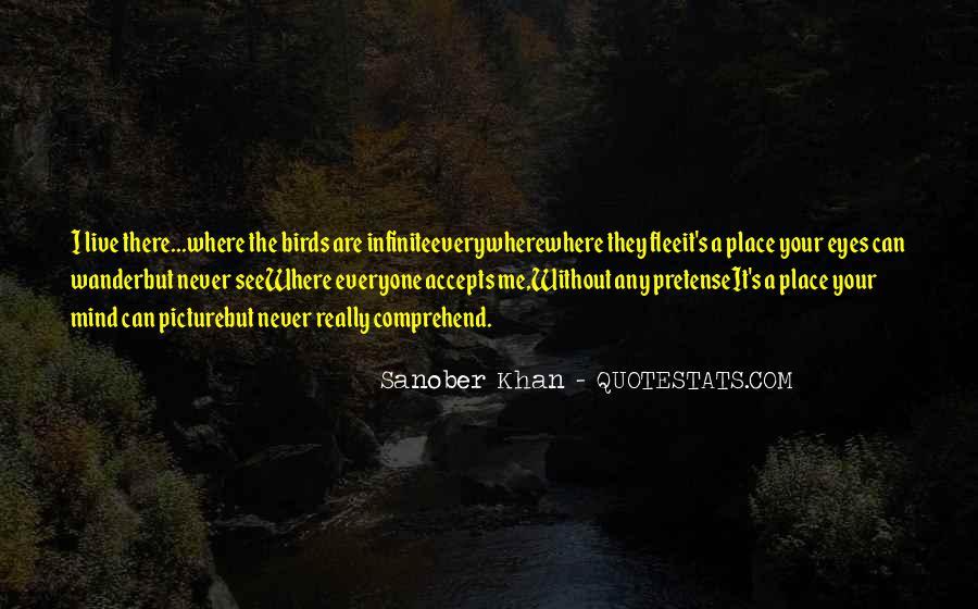 Sanober Khan Quotes #1681242