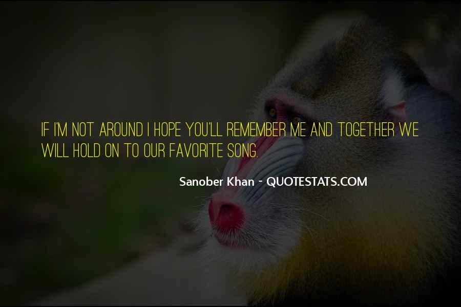 Sanober Khan Quotes #1752952