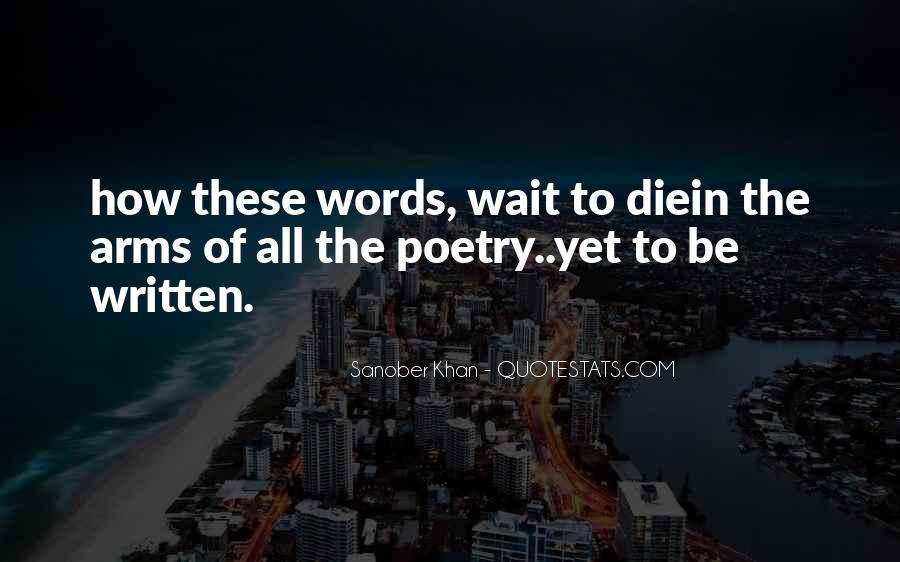 Sanober Khan Quotes #211961