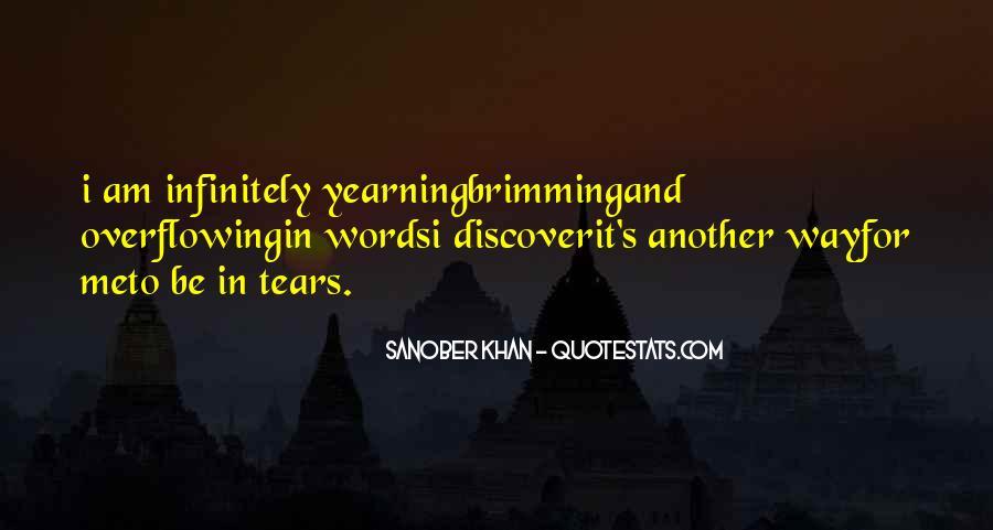 Sanober Khan Quotes #327106