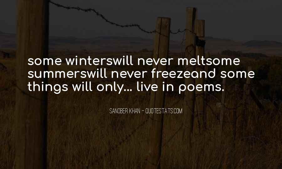 Sanober Khan Quotes #35593