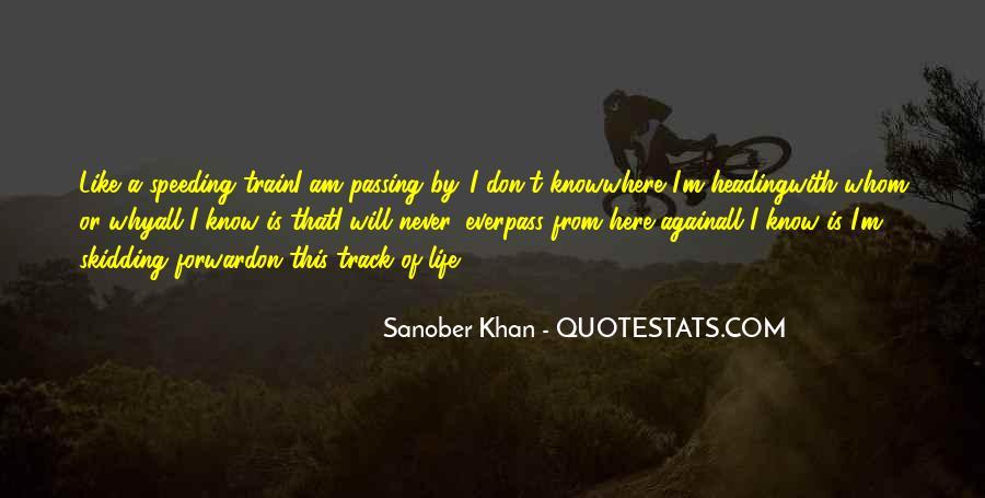 Sanober Khan Quotes #70226