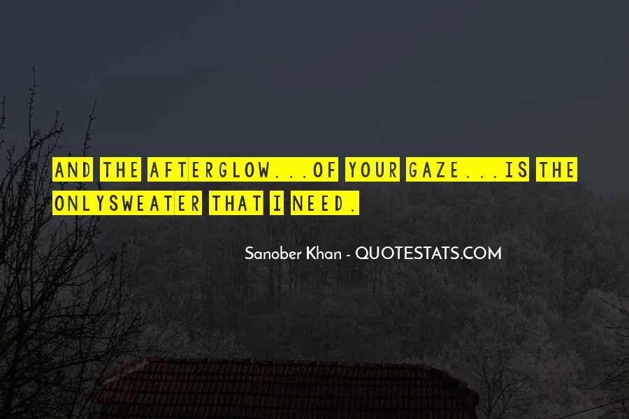 Sanober Khan Quotes #938998