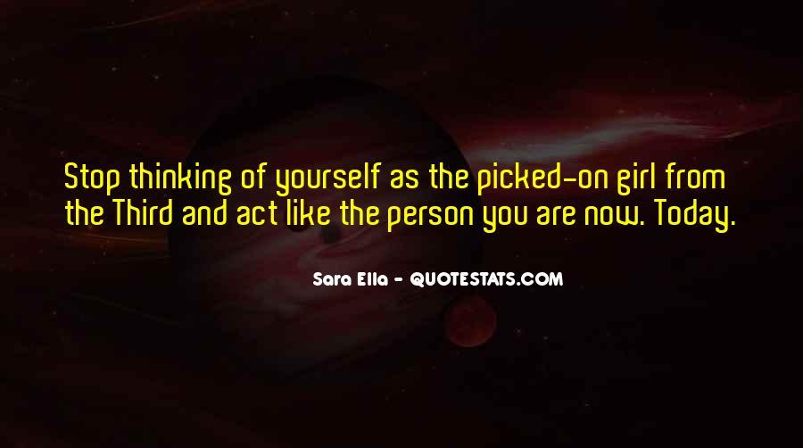 Sara Ella Quotes #1604233